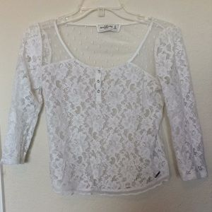 Abercrombie & Fitch Lace Blouse